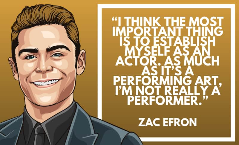 Zac Efron Picture Quotes 2
