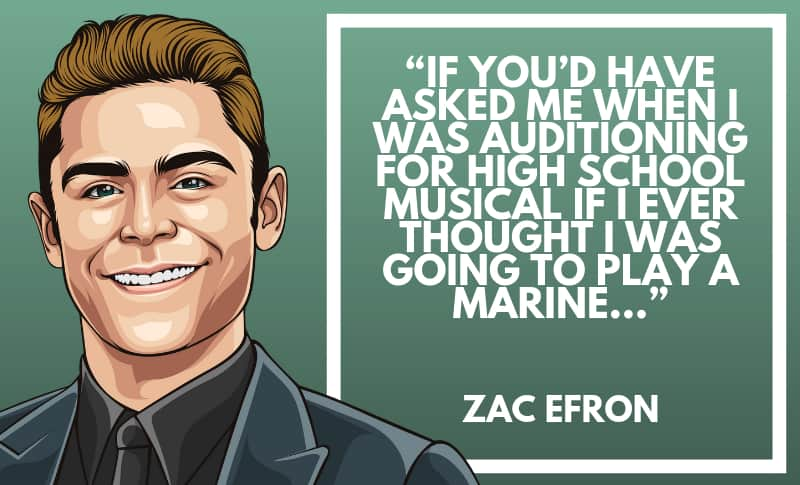 Zac Efron Picture Quotes 4