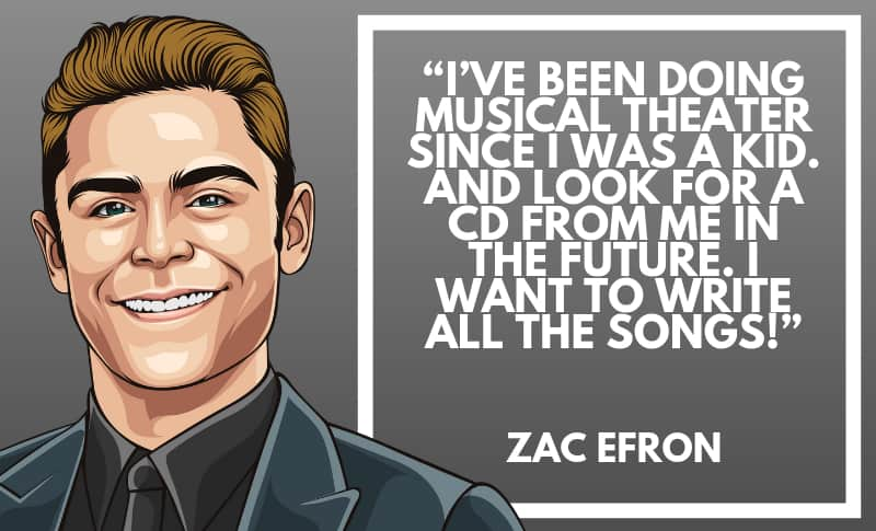 Zac Efron Picture Quotes 5