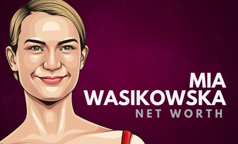 Mia Wasikowska's Net Worth