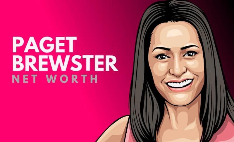 Paget Brewster Net Worth