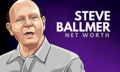 Steve Ballmer's Net Worth