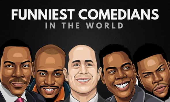 The 25 Funniest Stand-Up Comedians of All Time