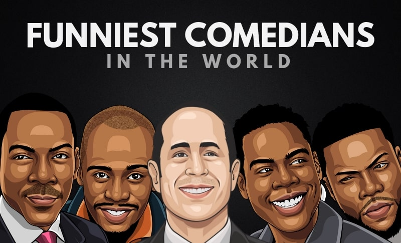 The Funniest Stand Up Comedians of All Time