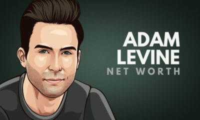Adam Levine's Net Worth