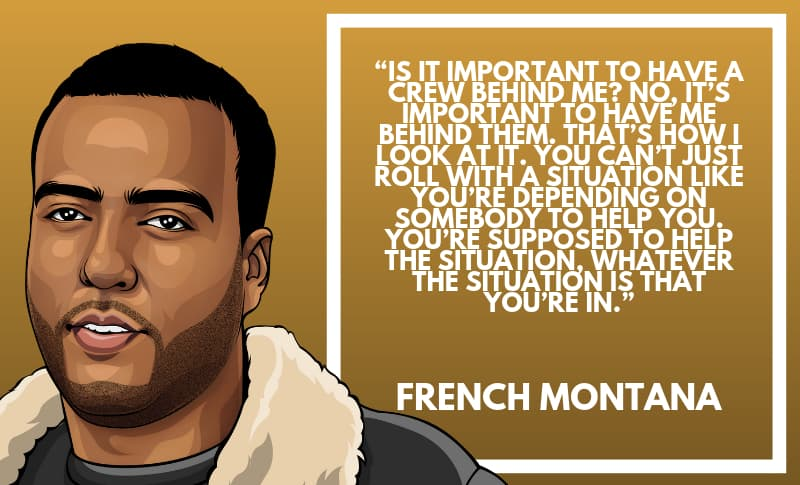 French Montana Picture Quotes 2