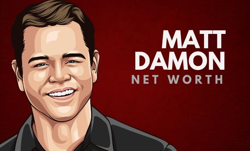 Matt Damon's Net Worth