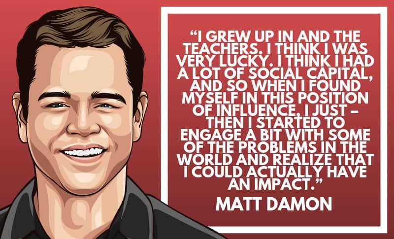 Matt Damon Picture Quotes 1