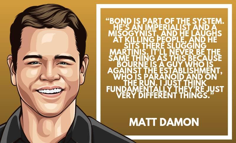 Matt Damon Picture Quotes 2