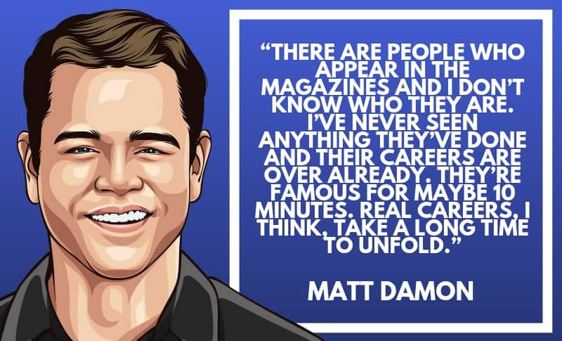 Matt Damon Picture Quotes 4