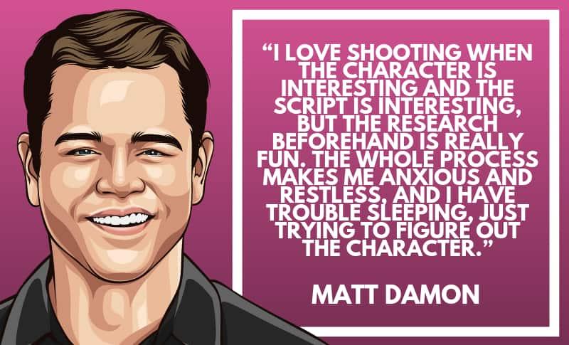 Matt Damon Picture Quotes 5
