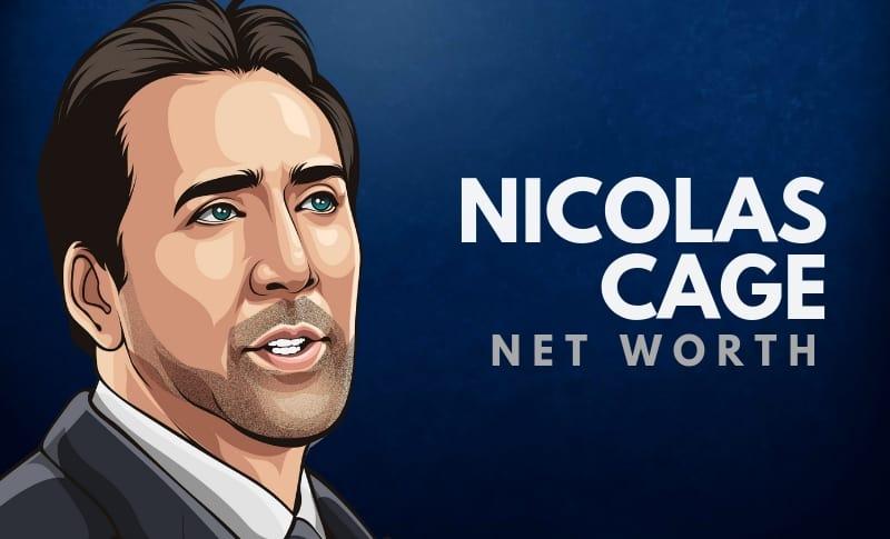 Nicolas Cage's Net Worth