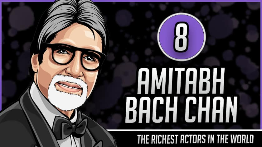 Richest Actors in the World - Amitabh Bachchan