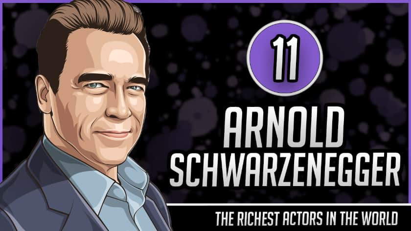 Richest Actors in the World - Arnold Schwarzenegger