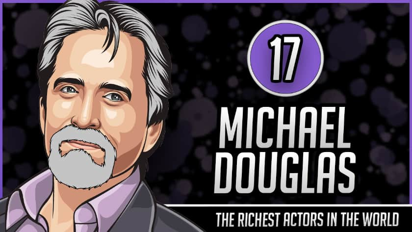 Richest Actors in the World - Michael Douglas