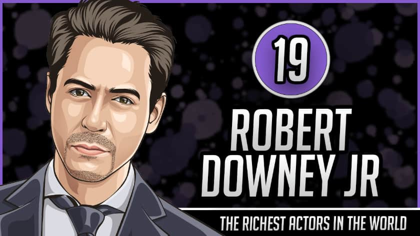 Richest Actors in the World - Robert Downey Jr