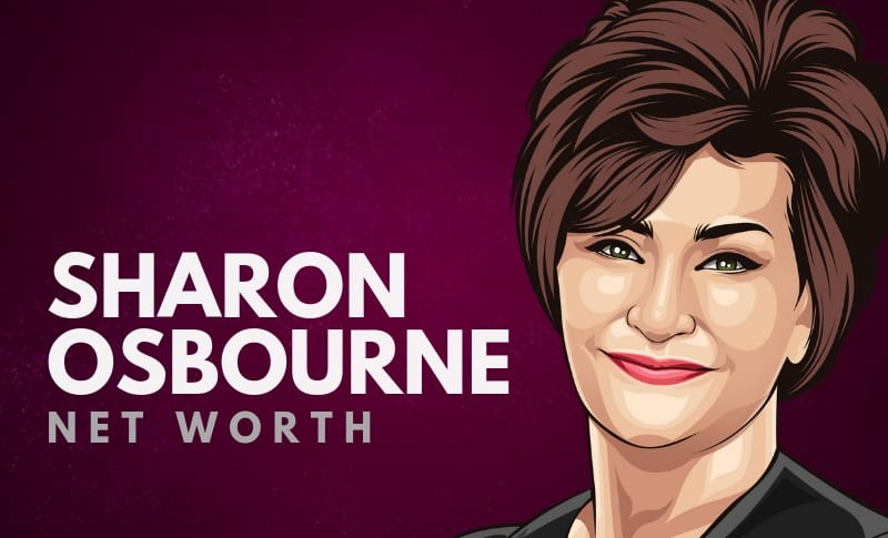 Sharon Osbourne's Net Worth