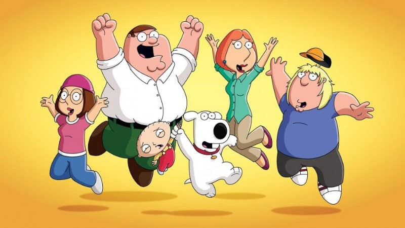 Best Netflix TV Series - Family Guy