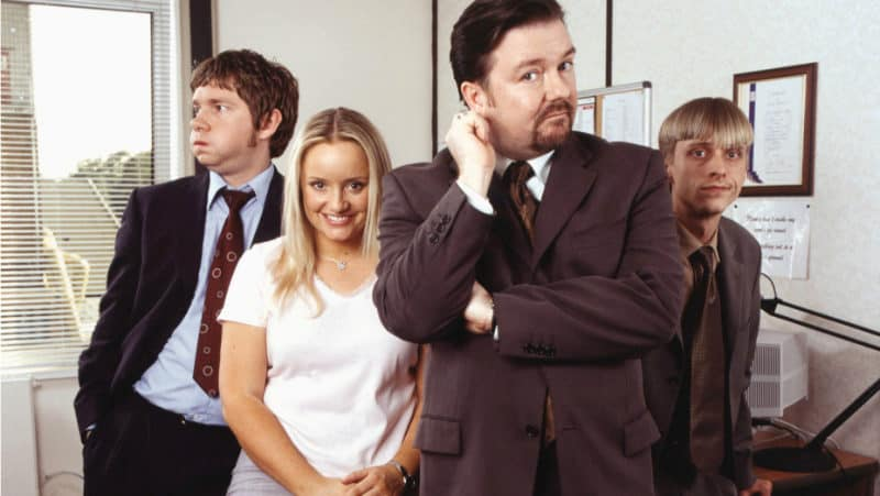 Best Netflix TV Series - The Office UK