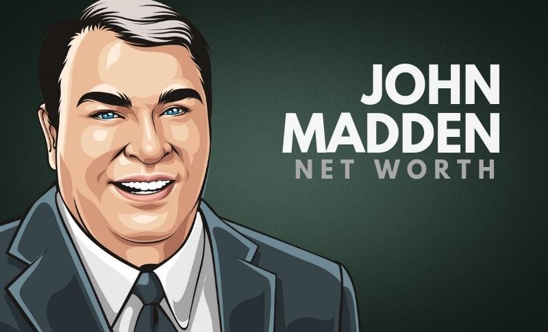 John Madden's Net Worth
