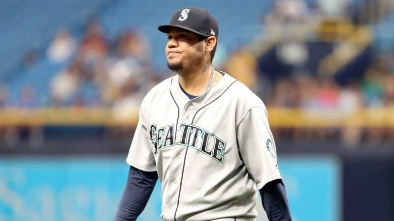 Richest Baseball Players - Felix Hernandez