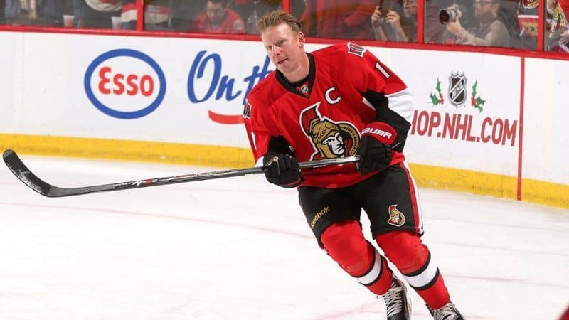 Richest Hockey Players - Daniel Alfredsson