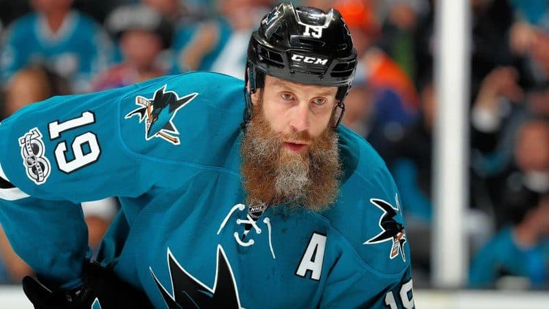 Richest Hockey Players - Joe Thornton