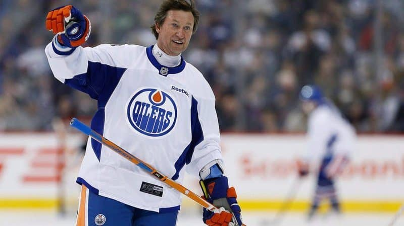 Richest Hockey Players - Wayne Gretzky