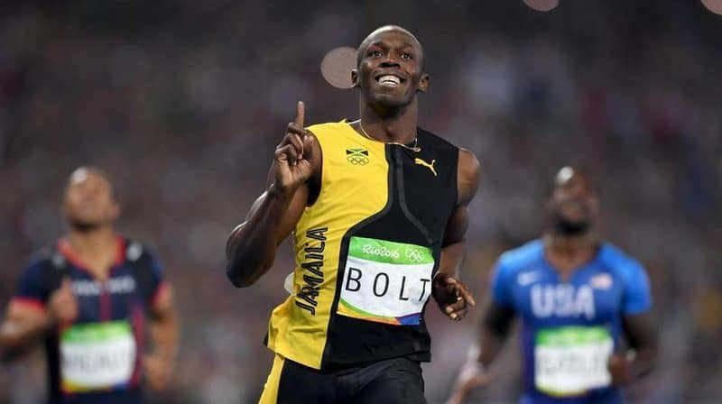 Richest Olympians - Usain Bolt