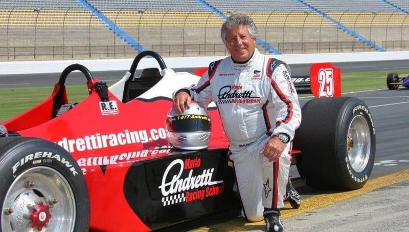Richest Racing Drivers - Mario Andretti