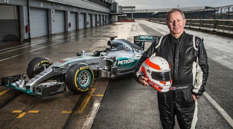 Richest Racing Drivers - Martin Brundle