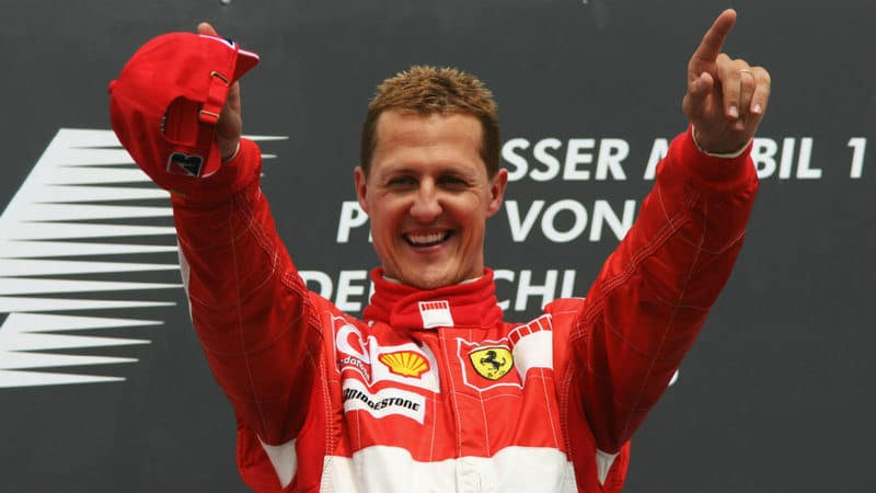 Richest Racing Drivers - Michael Schumacher