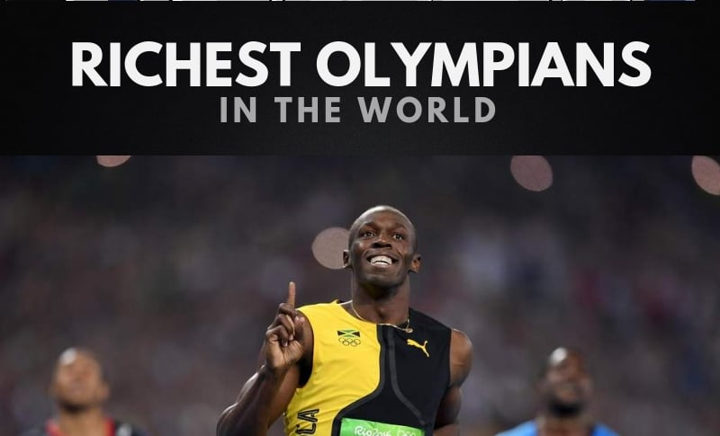 The 20 Richest Olympians in the World