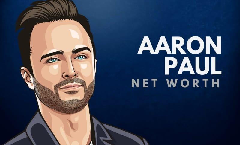 Aaron Paul's Net Worth