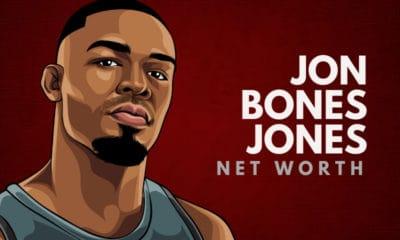 Jon Bones Jones' Net Worth