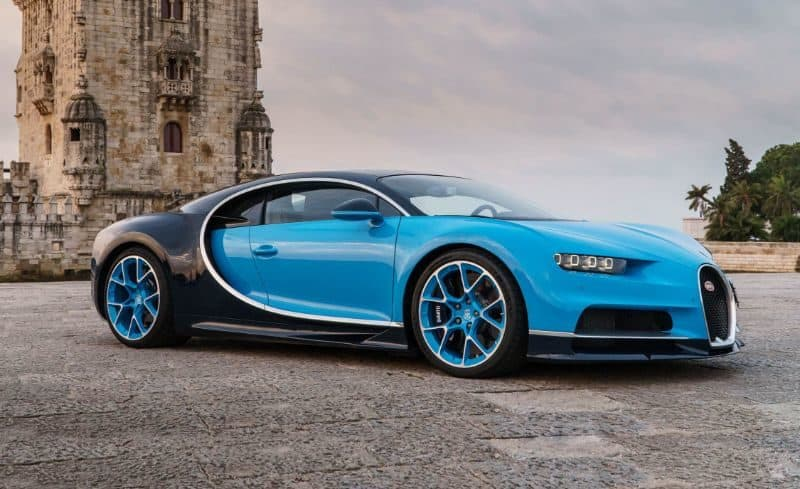 Most Expensive Cars - Bugatti Chiron