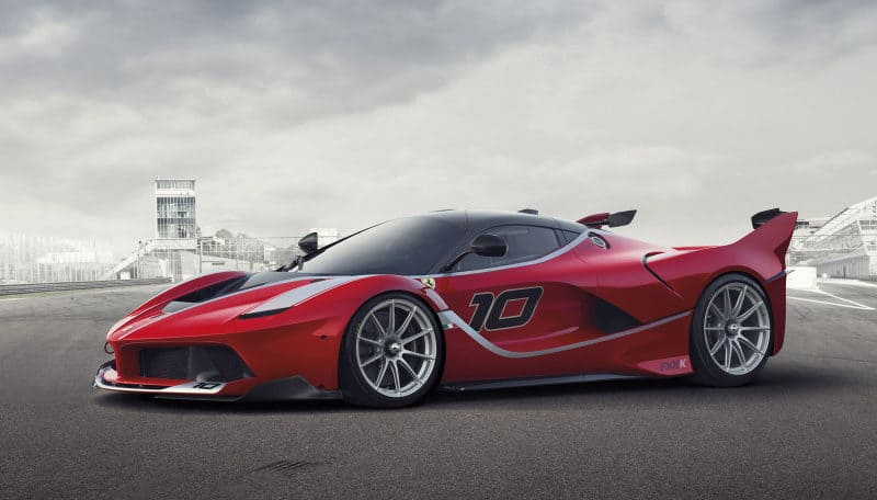 Most Expensive Cars - Ferrari LaFerrari FXX K