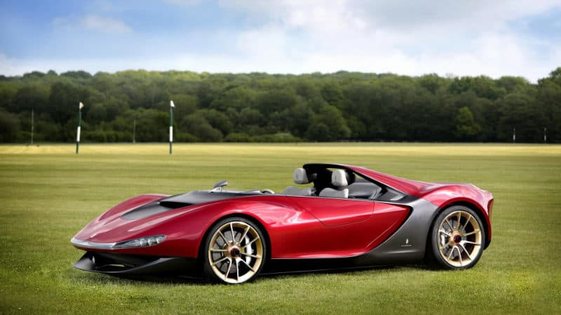 Most Expensive Cars - Ferrari Pininfarina Sergio