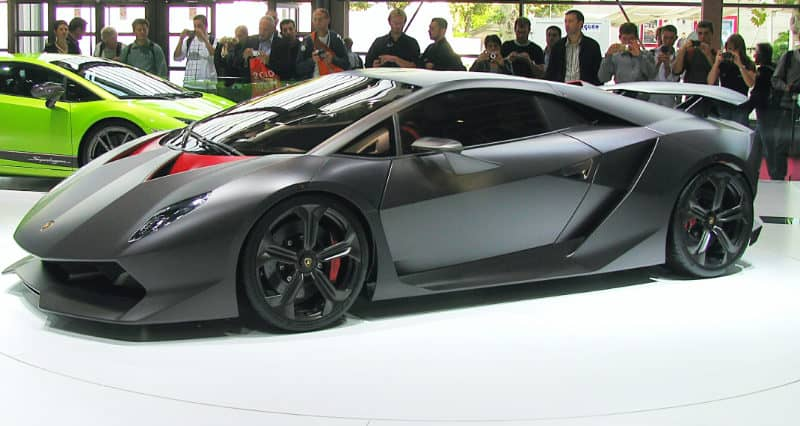 Most Expensive Cars - Lamborghini Sesto Elemento