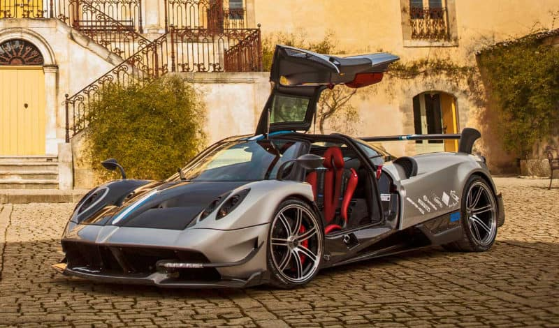 Most Expensive Cars - Pagani Huayra BC