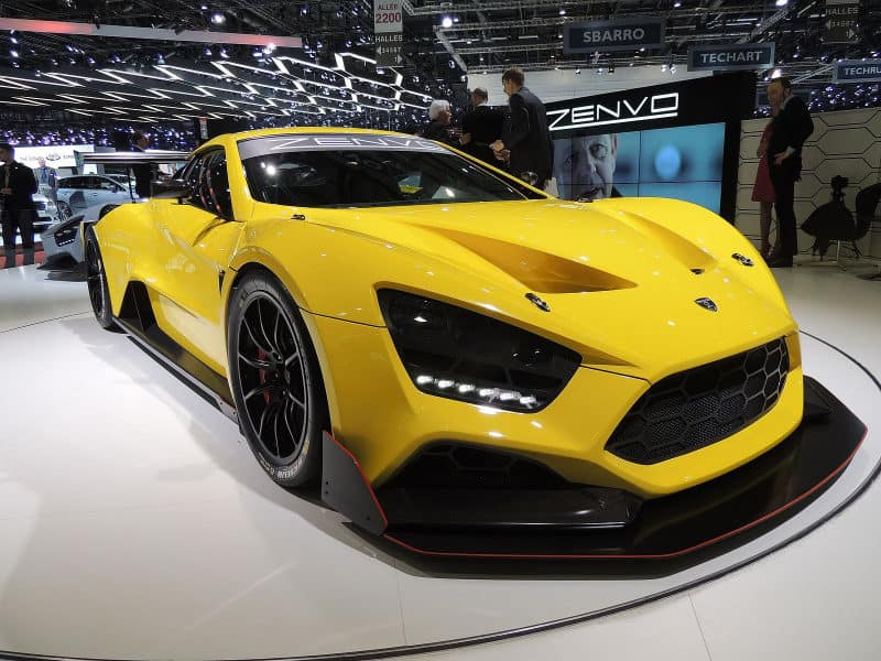 Most Expensive Cars - Zenvo TS1 GT