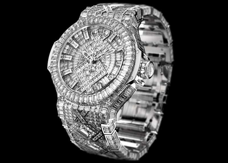Most Expensive Watches - Hublot Big Bang Diamond
