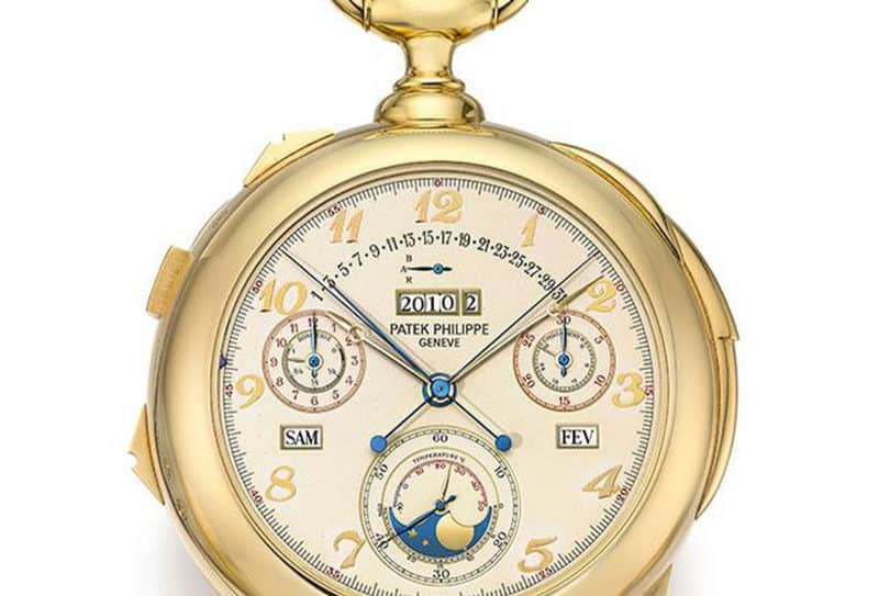 Most Expensive Watches - Patek Philippe Calibre 89