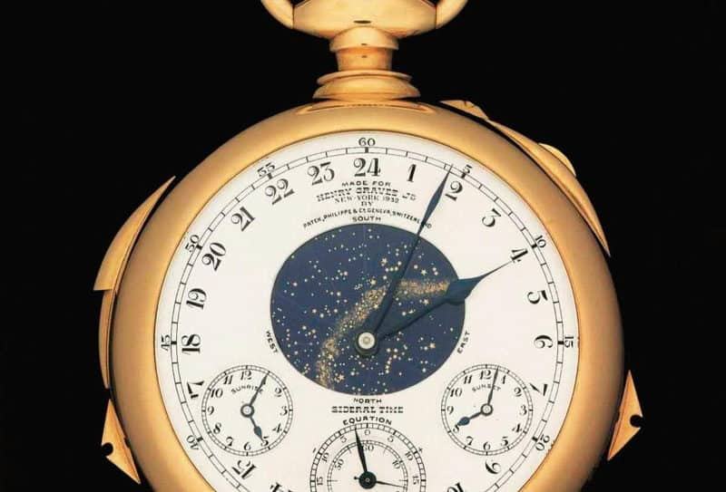 Most Expensive Watches - Patek Philippe Henry Graves Supercomplication