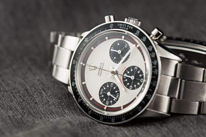 Most Expensive Watches - Paul Newman Rolex Daytona