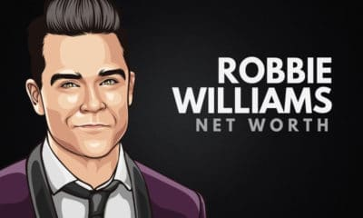 Robbie Williams' Net Worth