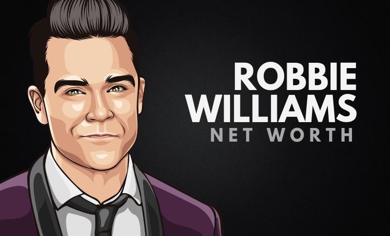 Robbie Williams' Net Worth