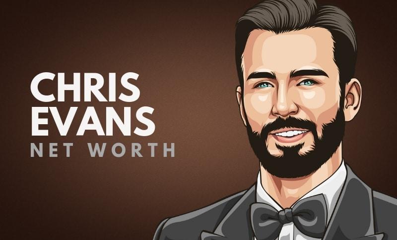 Chris Evans' Net Worth