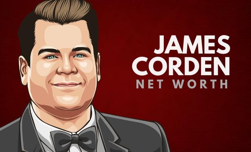 James Corden's Net Worth
