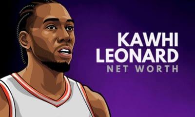 Kawhi Leonard's Net Worth